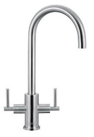 Franke Panto Brushed Stainless Steel Tap