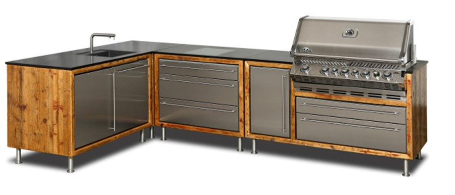 PROKS Quality Stainless Steel Cabinet Facia
