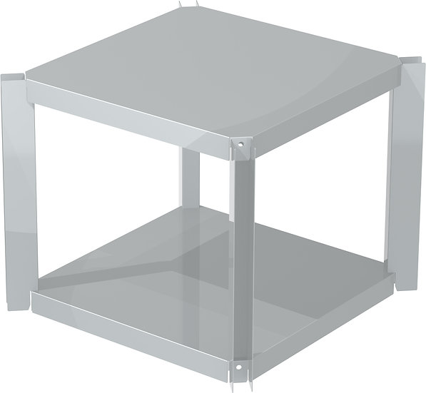 OneQ Shelf Inox