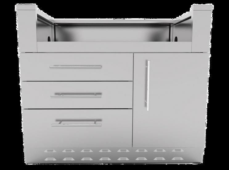Sunstone Cabinet for 3 Burner Gas Grill (SAC34GLPCD)
