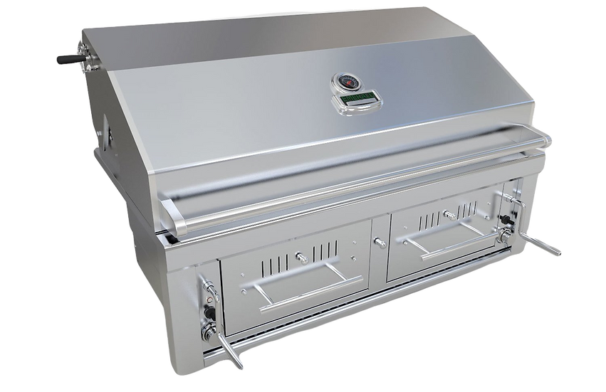 "Sunstone® Emerald Series 42"" Gas/Charcoal/Wood Hybrid Grill (SUNCHDZ42)"