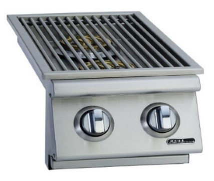 Bull Double Built-in Side Burner Front & Back (30008/9CE)