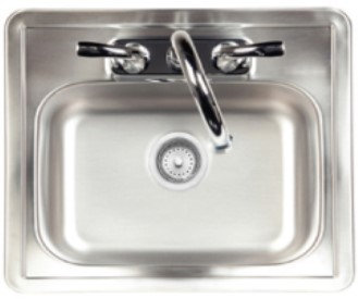 Bull Stainless Steel Sink (38cm) (12391)