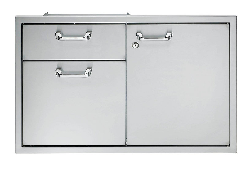"Lynx Classic 36"" Storage Door & Double Drawer Combo (CSA36)"