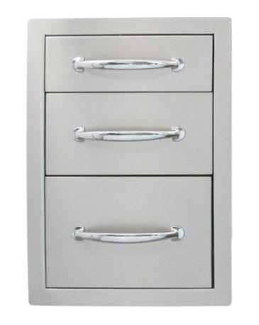 Sunstone Classic Triple access drawer (B-TD18)