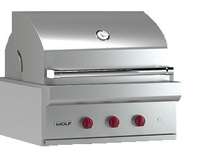 Wolf ICBOG30 76cm outdoor grill