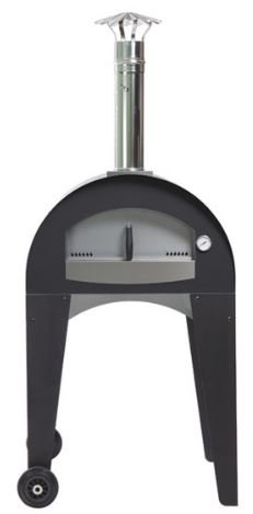 Fontana Ischia Line Wood Fired Oven with Integrated Cart (Ischia_Cart_Wood)
