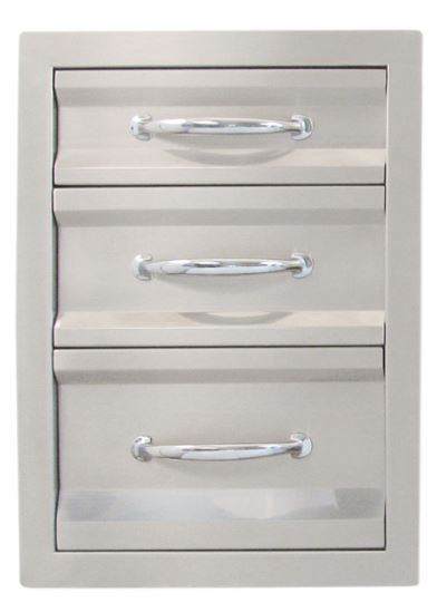 Sunstone Premium Triple Drawer C-TD20