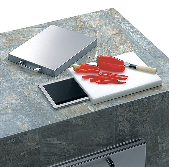 Lynx Countertop Trash Chute with Cutting Board and Cover (C18TS)