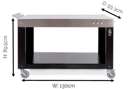 Alfa Multi-Functional Base Table (130 cm)