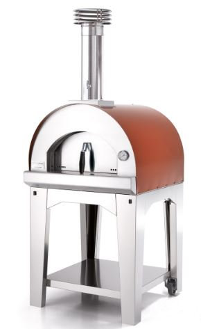 Fontana Margherita Wood Fired Oven with Cart (Margherita_Cart_Wood)