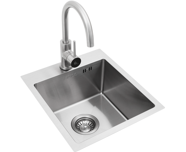Bull Premium Stainless Steel Sink with Faucet - Small (22389)