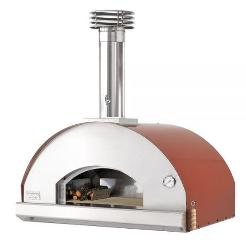 Fontana Mangiafuoco Wood Fired Oven (Mangiafuoco_Build_In_Wood_Rosso/Anth)