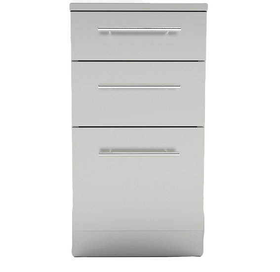 Sunstone Cabinet with 3 Drawers - excludes worktop (SBC18STD)