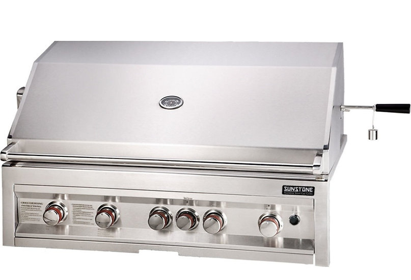 Sunstone 5 Burner Gas Grill (SUN5B-IR)