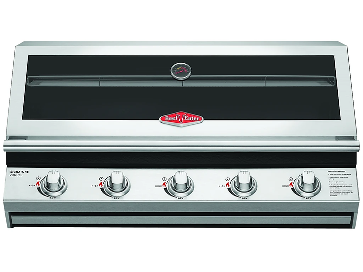 BeefEater 2000 Series 5 Burner 973mm Built in Gas Grill (BSB2050SA)