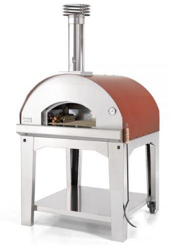 Fontana Marinara Wood Fired Oven with Cart (Marinara_Cart_Wood)