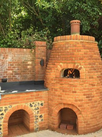 Kitchen in the Garden - Le Panyol in Brick