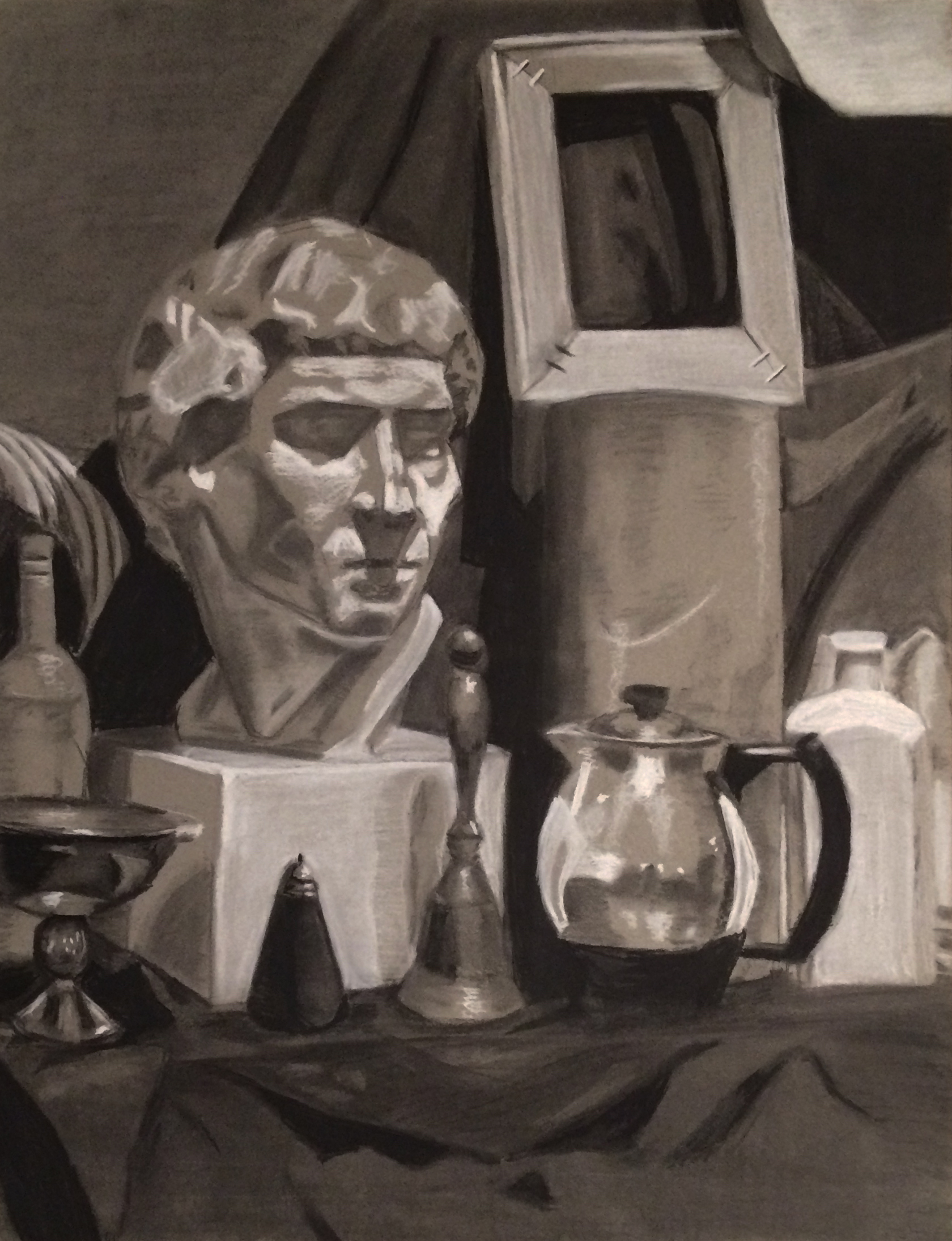 Still Life with a Bust