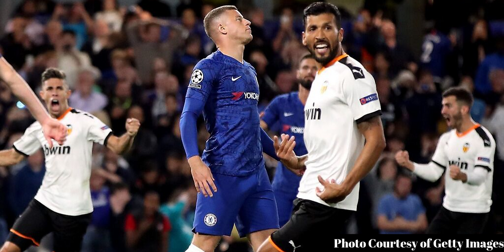 Ross Barkley misses penalty in loss to Valencia