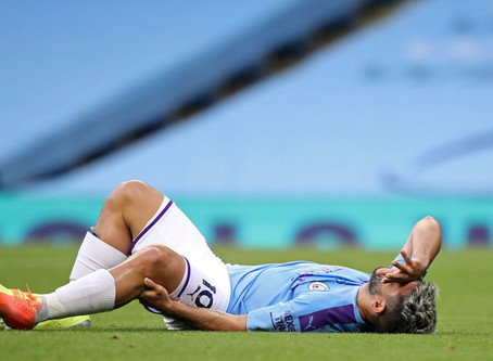 Man City's Aguero To Miss One Or Two More Months With Knee Injury