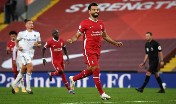 Mo Salah scored two penalties against Leeds United in win for Liverpool
