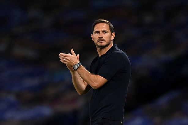 Chelsea manager Frank Lampard applauds his players during win at Brighton