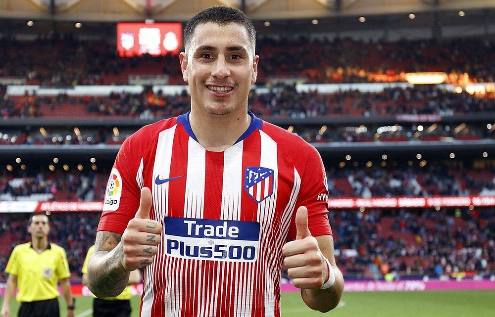 Jose Maria Gimenez with Atletico Madrid (Photo from Atletico Madrid's Twitter)