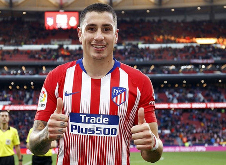 Man City Bid For Atletico's Jose Maria Gimenez