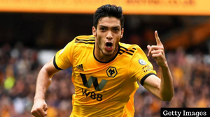 The Mexican forward has scored 22 goals and registered 10 assists this season for Wolves. [Getty]