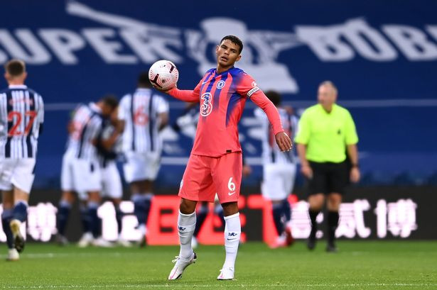 Thiago Silva frustrated on his Chelsea debut after his error led to a West Brom goal (Getty Images)