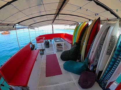 Swel Lines Boat Deck Mentawai