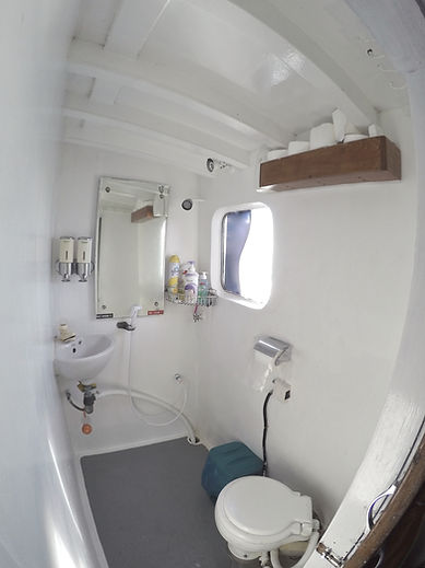 Swel Lines Boat Bathroom Mentawai