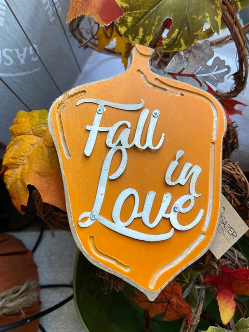Fall stargazer sign