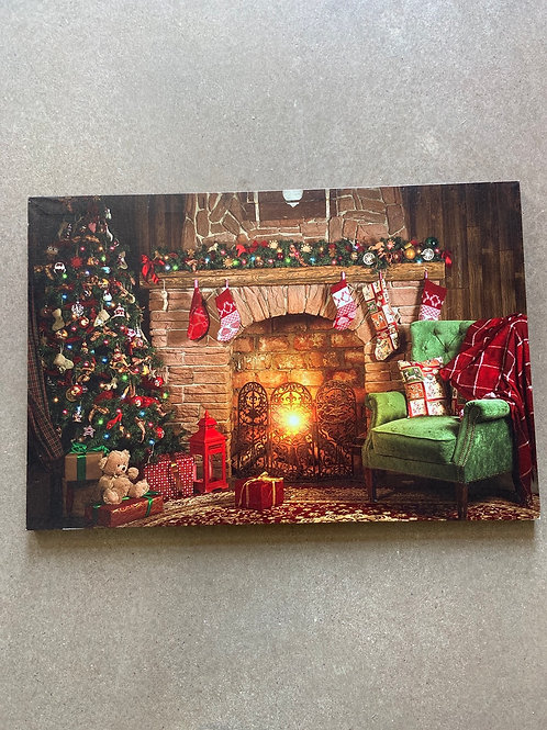 Light up Christmas picture