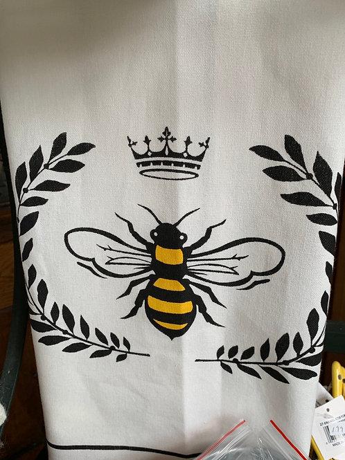 Queen Bee Cotton Tea Towel