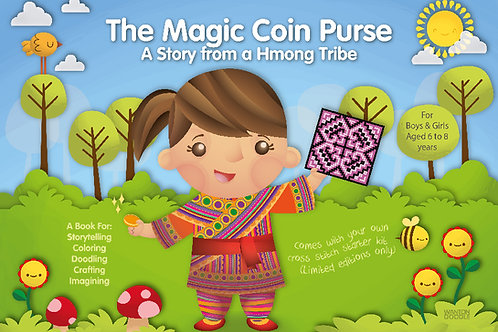The Hmong 4-in-1 Activity Book For Children + Memoirs of a DJ - Life in Progress