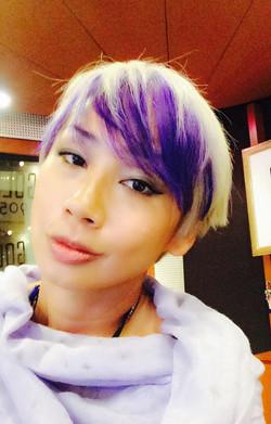 Vern Studio Purple Hair 2