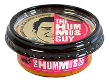 Oganic Black Bean Chipotle Harissa Hummus