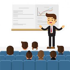 orador-seminario-negocios-haciendo-prese