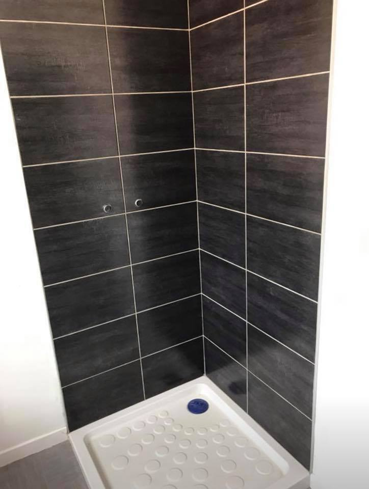 Salle de bain T2 en création