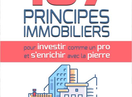 TIRAGE AU SORT - A GAGNER : le livre 107 PRINCIPES IMMOBILIERS de Bruno Rako