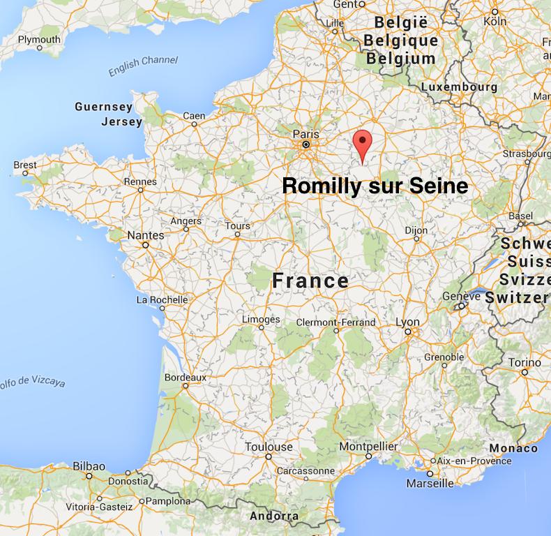 Romilly sur Seine - Tour des régions