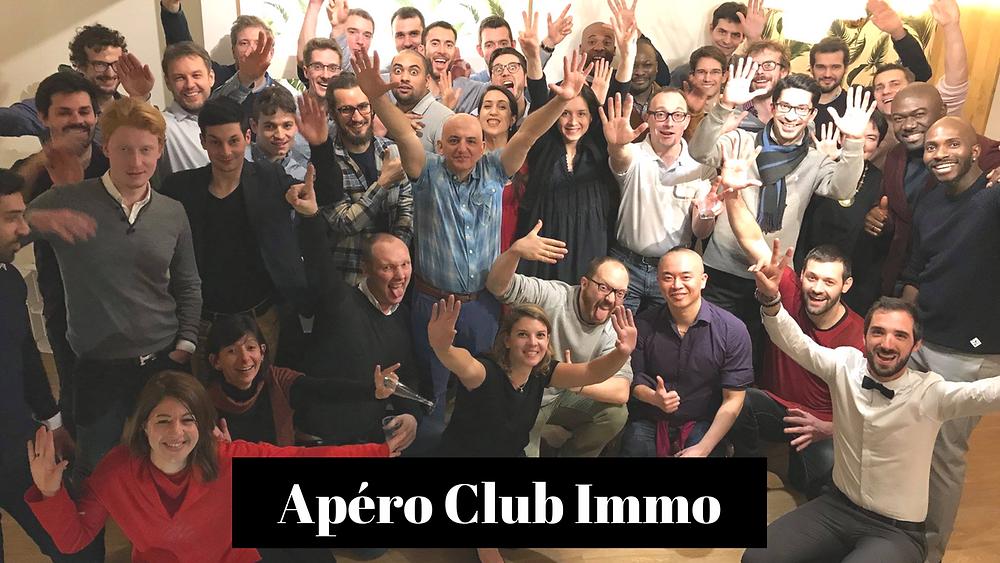 Apéro Club immo - 8 septembre 2018