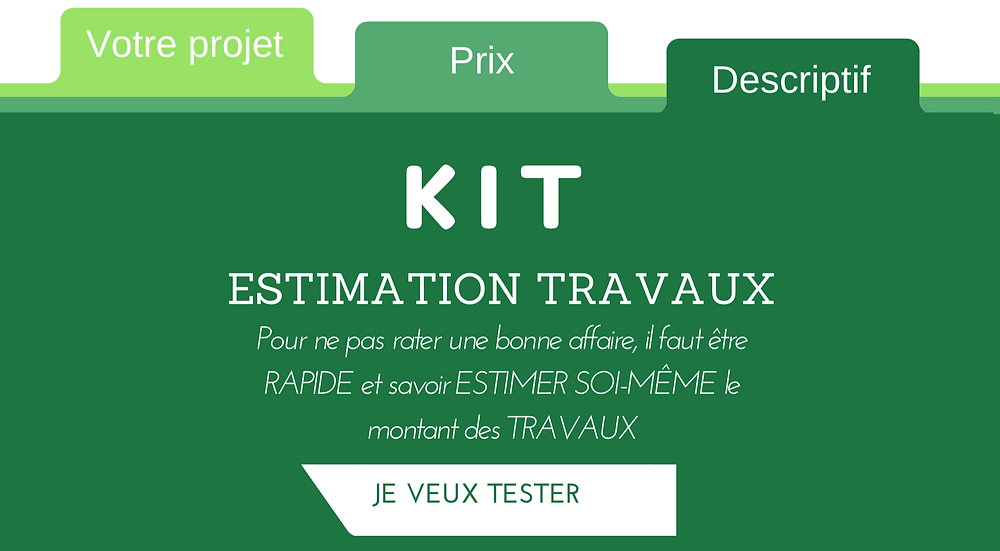 Kit estimation travaux - Club Immobilier