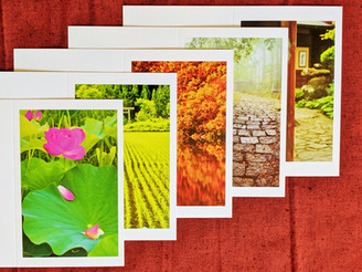 LIMITED EDITION JAPANESE SCENIC GREETING CARDS STILL AVAILABLE
