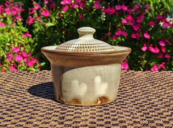 Koishiwara Ceramics - small crock with lid