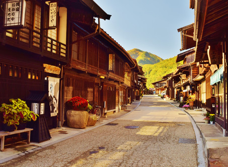 Kiso Valley—so much more than the  Nakasendo trail walking
