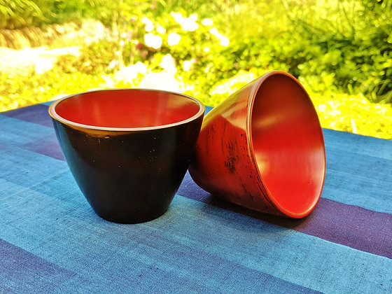 Aizu Lacquerware - cups (set of 2)