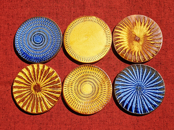 Koishiwara Ceramics - coasters (set of 6)